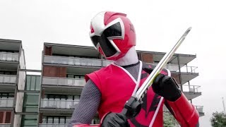 Power Ranger Ninja Steel | Ranger Rojo vs Spinferno - capitulo 3