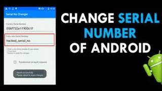How to change serial number on android videos / InfiniTube