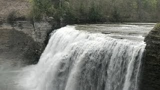 Waterfalls at Letchworth State Park - HD May 10, 2014