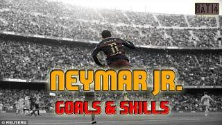 NEYMAR JR. AMAZING GOALS & SKILLS!