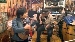 O Dolar Furado western movie theme surf guitar spaguetti western JP e Soninha KOi ukulele tenor