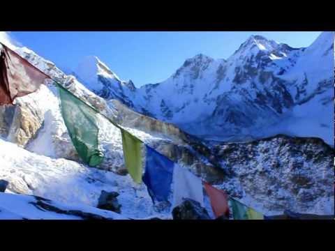 Dejlig morgen på Kala Pattar med Kipling Travel