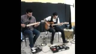 Solo de guitarra no verbo vivo
