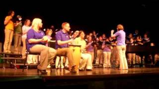 Livin' in a Holy City by Stephen Hatfield sung by the Coro d'Angeli from UW-Platteville