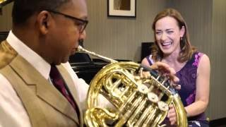 Wynton Marsalis takes the Sarah´s Music Horn Challenge