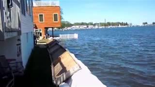 Sodus Point, NY flooding May 2017. One of the locky ones.
