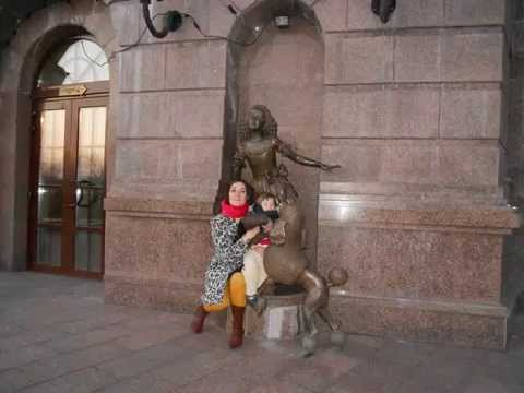 Marionette Theatre Kiev -Anthony Babich-West 2 years old