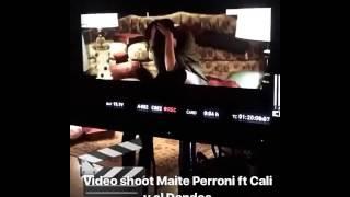 """Maite Perroni - """" Gravando su nuevo videoclip #LOCA """""""