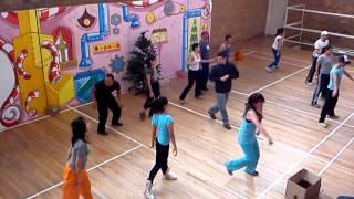 coreografía del final