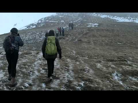 Almost at the top of Hoverla