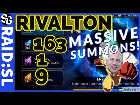 RAID SHADOW LEGENDS | MEGA SUMMONS 163 ANCIENT 9 SACRED
