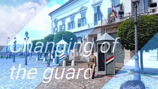 Changing of the guard at Budapest palace- daft punk style remix