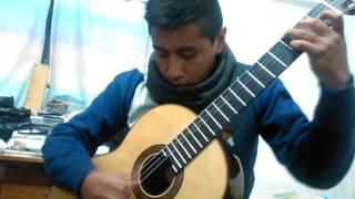 Yo no he nacido para sufrir - Los Kjarkas - arreglo para guitarra sola - cover guit