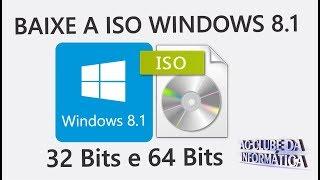 Como Baixar a ISO Windows 8.1 Pro 32 Bits e 64 Bits Original