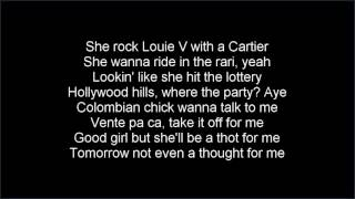 Conor Maynard & Anth Bad and boujee lyrics