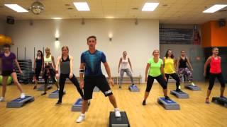 ZUMBA STEP Pitbull - Fun ( salsa/samba)