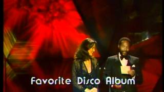 "Donna Summer Wins Favorite Disco Album For "" Live And More"" - AMA 1979"
