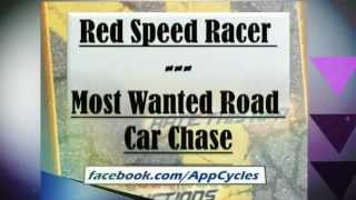 Red Speed Racer - Most Wanted Road Car Chase