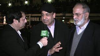 Views about Boxer AJI Sharif knocks out Mario Lakatos