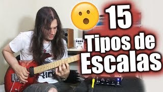 15 Guitar Scales In 1 Chord (15 ESCALAS EM 1 ACORDE)