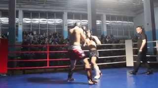 Karol Łasiewicki (Fight Academy Ostrołęka) - Tomasz Gumkowski (KSW Zambrów)