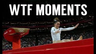 WTF Moments in Gymnastics #1