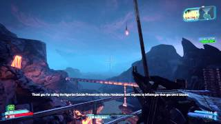 Borderlands 2 - Kill Yourself Rewards