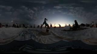 360° Video - Full Moon Yoga feat. Margie Pargie