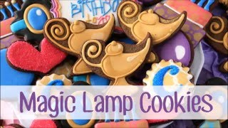 How to Make Magic Lamp Cookies