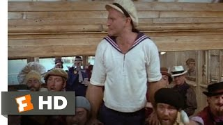 Popeye (6/8) Movie CLIP - I Yam What I Yam (1980) HD