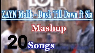ZAYN - Dusk Till Dawn ft Sia - Mashup 20 songs cover Conor Maynard and Madison Beer
