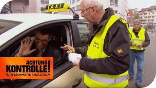 Wie das Auto, so der Fahrer? Taxiaufsicht unterwegs! | Achtung Kontrolle | kabel eins