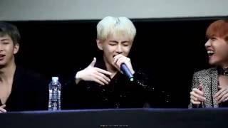 [ENG SUB] 161015 방탄소년단 V singing Cypher pt. 4