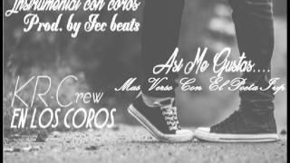 Asi Me Gustas Instrumental De Rap /Coros/KR-Crew/+ Verso/El Poeta Ivp (Prod. Jec Beats) 2017