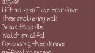 "The Letter Black - ""Smothering Walls"" {Lyrics}"
