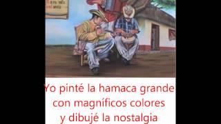El Pintor, Diomedes Diaz con letra
