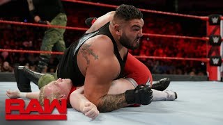 Ronnie Ace & Nathan Bradley vs. AOP: Raw, Sept. 10, 2018