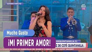 María José Quintanilla - Mi primer amor - Mucho Gusto 2017