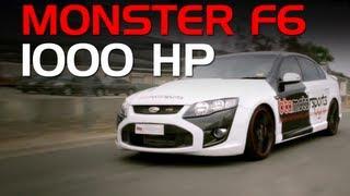 BTA Motorsports 1000hp 'Monster' Ford F6 turbo