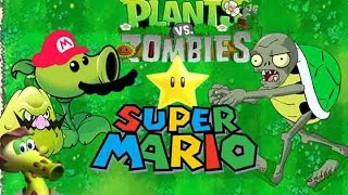 Mario plants vs Koopa Zombies