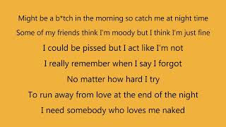 Ella Mai - Naked (Lyrics)