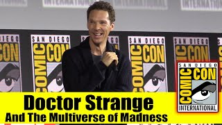 DOCTOR STRANGE AND THE MULTIVERSE OF MADNESS   2019 Comic Con Panel (Benedict Cumberbatch)
