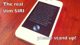 Eminem feat. SIRI - The Real Slim SIRI (iPhone 4S)
