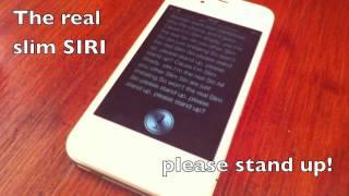 Eminem feat. SIRI - The Real Slim SIRI (iPhone 4S)