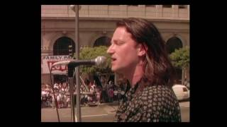 U2 - In God´s Country Live Rooftop , L A 1987