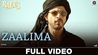 Zaalima - Full Video | Raees | Shah Rukh Khan & Mahira Khan | Arijit Singh & Harshdeep Kaur | JAM8