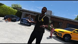 Meek Mill - On Me FT.  CARDI B (OFFICIAL MUSIC VIDEO) GTA