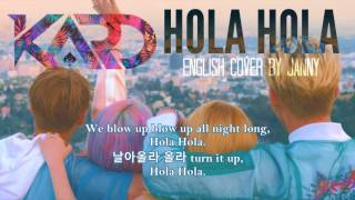 [English Cover] K.A.R.D (카드) - Hola Hola by JANNY