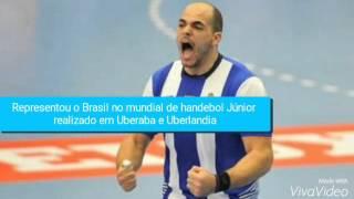 Recado do atleta de handebol Gustavo Rodrigues