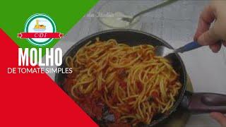 Como fazer molho de tomate simples | Receita italiana | Culinaria direto da Italia